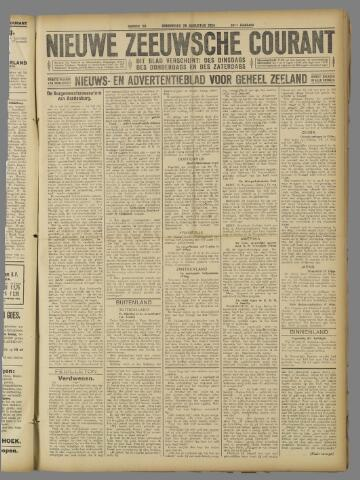 Nieuwe Zeeuwsche Courant 1924-08-28