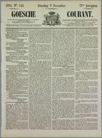 Goessche Courant 1884-12-09