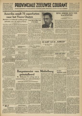 Provinciale Zeeuwse Courant 1950-07-04