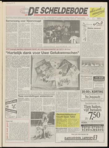 Scheldebode 1992-12-29