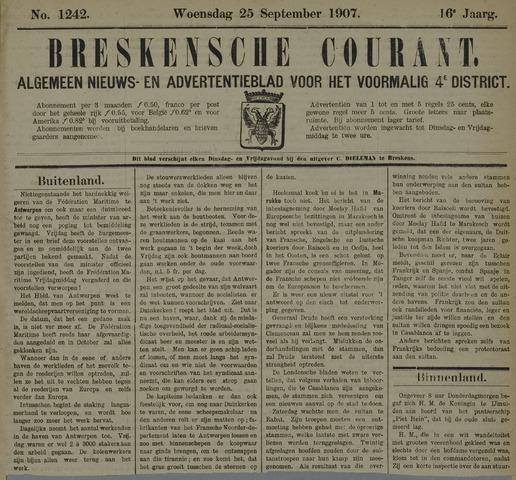 Breskensche Courant 1907-09-25