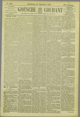 Goessche Courant 1919-09-11