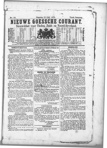 Nieuwe Goessche Courant 1875-07-13