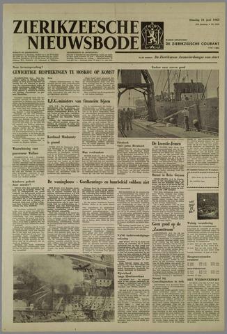 Zierikzeesche Nieuwsbode 1963-06-11