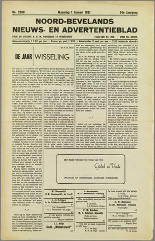 Noord-Bevelands Nieuws- en advertentieblad 1951