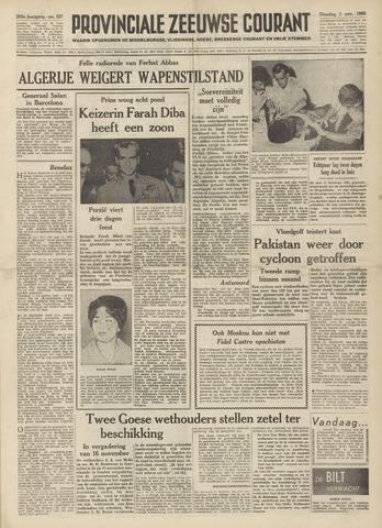 Provinciale Zeeuwse Courant 1960-11-01