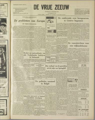 de Vrije Zeeuw 1958-11-01