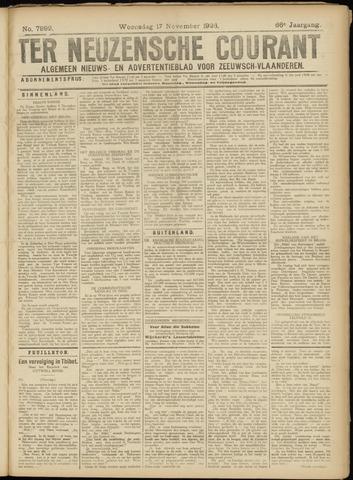 Ter Neuzensche Courant. Algemeen Nieuws- en Advertentieblad voor Zeeuwsch-Vlaanderen / Neuzensche Courant ... (idem) / (Algemeen) nieuws en advertentieblad voor Zeeuwsch-Vlaanderen 1926-11-17