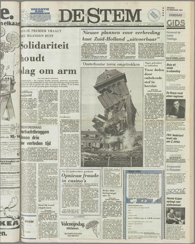 de Stem 1981-02-13