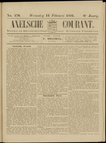 Axelsche Courant 1891-02-11