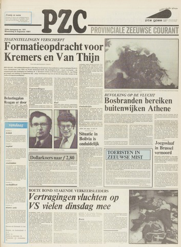 Provinciale Zeeuwse Courant 1981-08-05