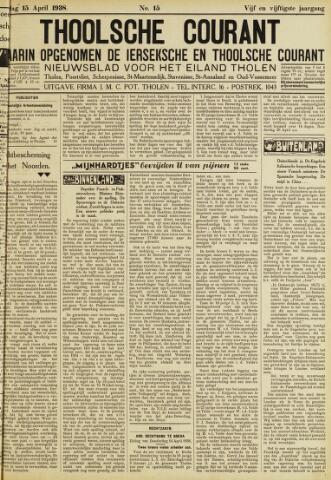 Ierseksche en Thoolsche Courant 1938-04-15