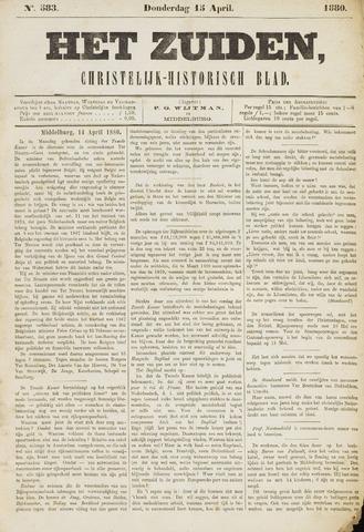 Het Zuiden, Christelijk-historisch blad 1880-04-13