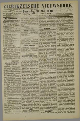 Zierikzeesche Nieuwsbode 1900-05-31