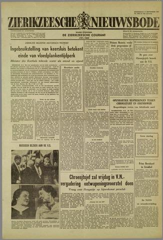 Zierikzeesche Nieuwsbode 1959-09-17