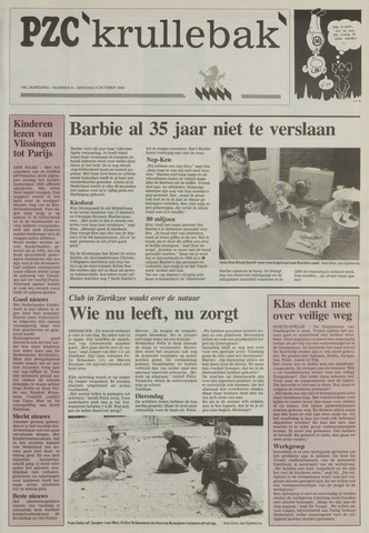 Provinciale Zeeuwse Courant katern Krullenbak (1981-1999) 1994-10-04