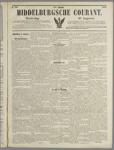 Middelburgsche Courant 1908-08-20