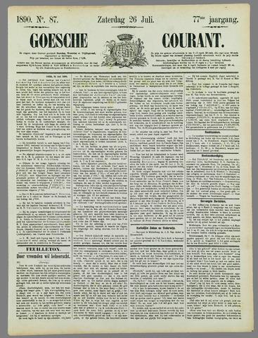 Goessche Courant 1890-07-26