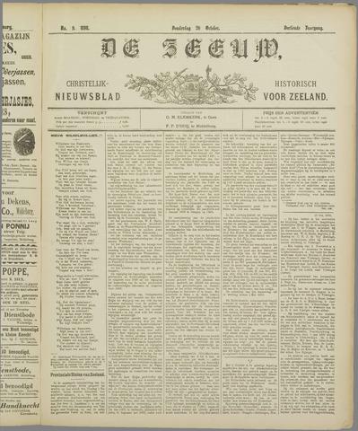 De Zeeuw. Christelijk-historisch nieuwsblad voor Zeeland 1898-10-20