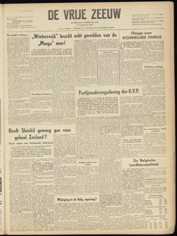de Vrije Zeeuw 1951-02-24