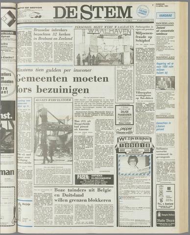 de Stem 1981-04-14
