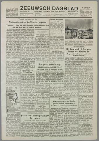 Zeeuwsch Dagblad 1951-09-05