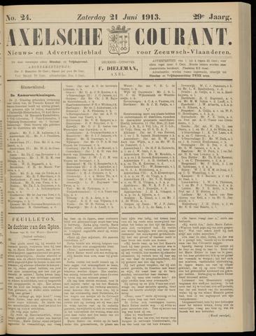 Axelsche Courant 1913-06-21