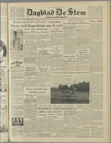 de Stem 1952-08-21