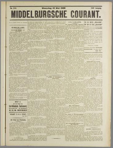 Middelburgsche Courant 1925-05-18