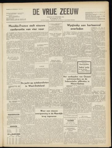 de Vrije Zeeuw 1954-11-23