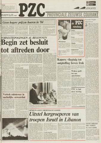 Provinciale Zeeuwse Courant 1983-08-31