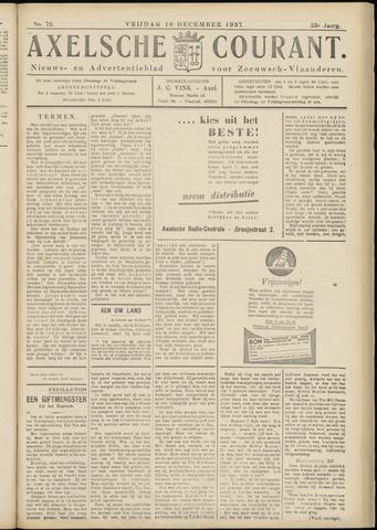 Axelsche Courant 1937-12-10