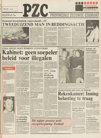 Provinciale Zeeuwse Courant 1980-03-29