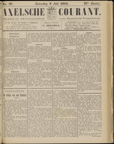 Axelsche Courant 1911-07-08