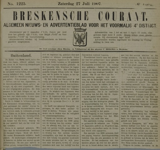 Breskensche Courant 1907-07-27