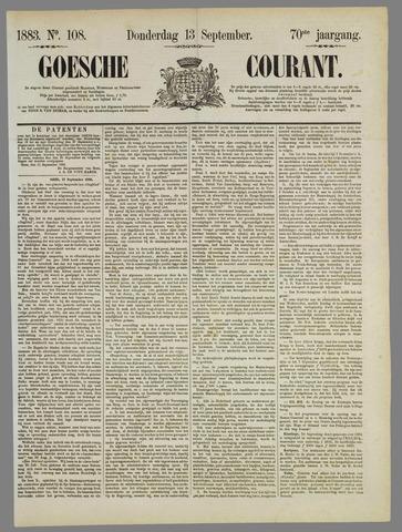 Goessche Courant 1883-09-13