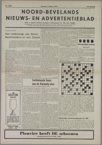 Noord-Bevelands Nieuws- en advertentieblad 1970-02-07