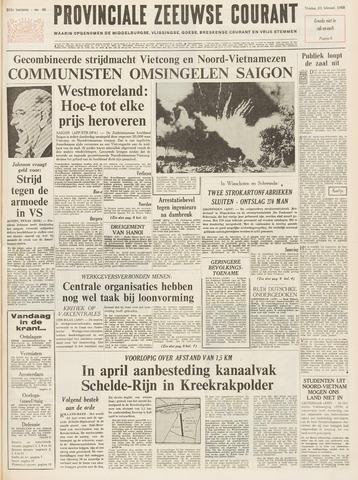 Provinciale Zeeuwse Courant 1968-02-23