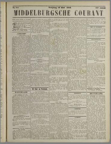 Middelburgsche Courant 1919-05-16