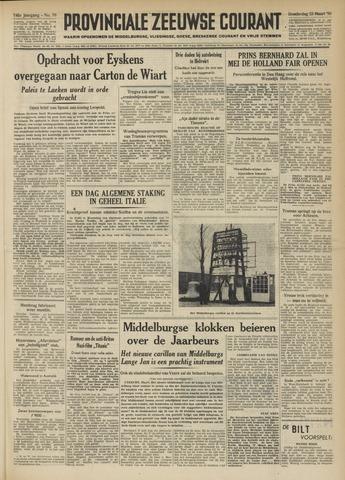 Provinciale Zeeuwse Courant 1950-03-23