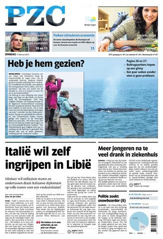 Provinciale Zeeuwse Courant 2015-02-17