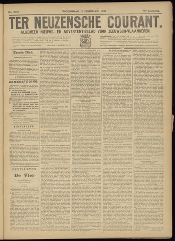 Ter Neuzensche Courant. Algemeen Nieuws- en Advertentieblad voor Zeeuwsch-Vlaanderen / Neuzensche Courant ... (idem) / (Algemeen) nieuws en advertentieblad voor Zeeuwsch-Vlaanderen 1933-02-15