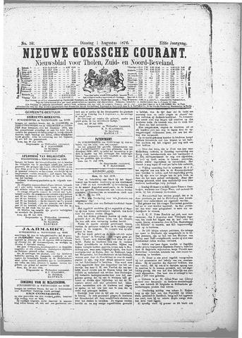 Nieuwe Goessche Courant 1876-08-01