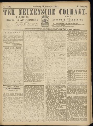 Ter Neuzensche Courant. Algemeen Nieuws- en Advertentieblad voor Zeeuwsch-Vlaanderen / Neuzensche Courant ... (idem) / (Algemeen) nieuws en advertentieblad voor Zeeuwsch-Vlaanderen 1901-11-14