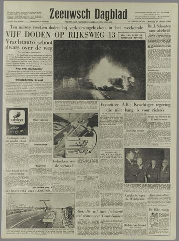 Zeeuwsch Dagblad 1958-10-27