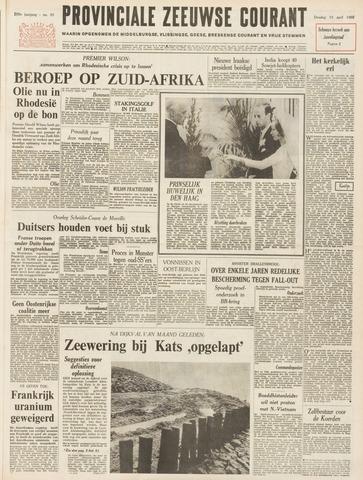 Provinciale Zeeuwse Courant 1966-04-19