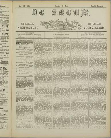 De Zeeuw. Christelijk-historisch nieuwsblad voor Zeeland 1898-05-28