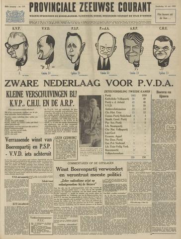 Provinciale Zeeuwse Courant 1963-05-16