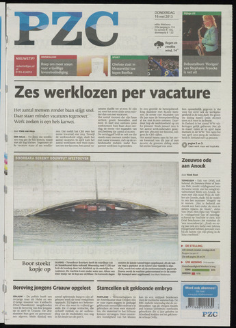 Provinciale Zeeuwse Courant 2013-05-16