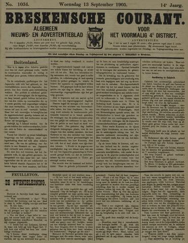 Breskensche Courant 1905-09-13